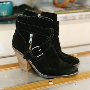 DV by Dolce Vita | Suede Connary Booties 7 - Black